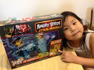 ANGRY BIRDS STAR WARS JENGA TIE FIGHTER GAME01