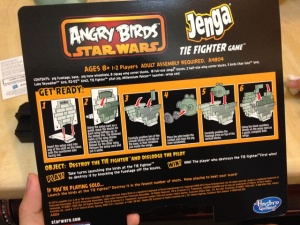 ANGRY BIRDS STAR WARS JENGA TIE FIGHTER GAME06