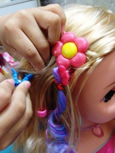 dream dazzlers blonde styling head 12